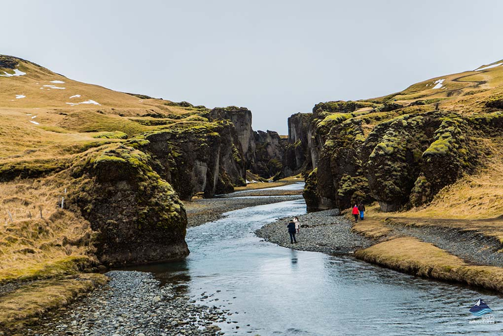 Fjadrargljufur Canyon South Iceland