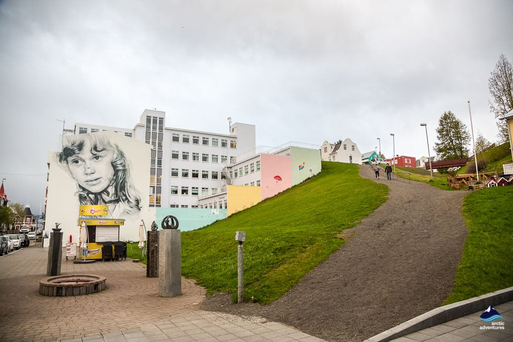 Grafiti at Akureyri