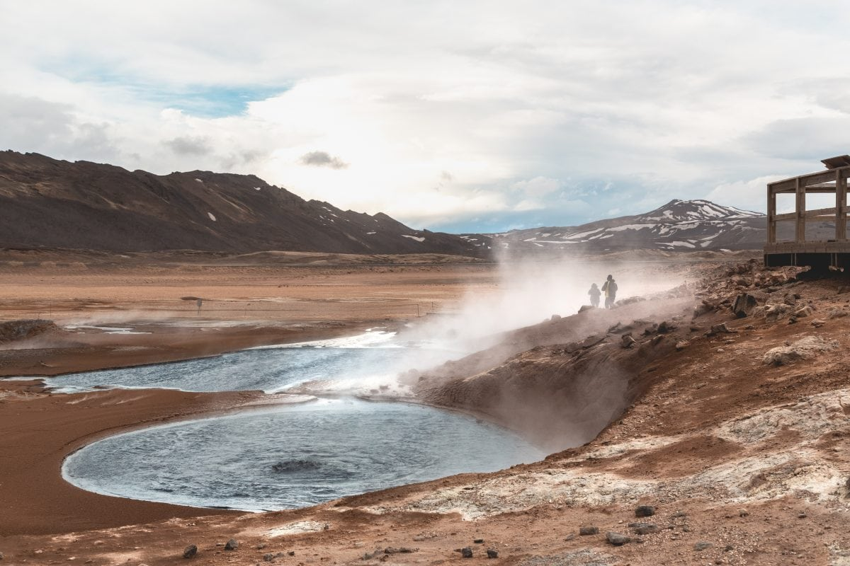 Namaskard Geothermal Area North Iceland