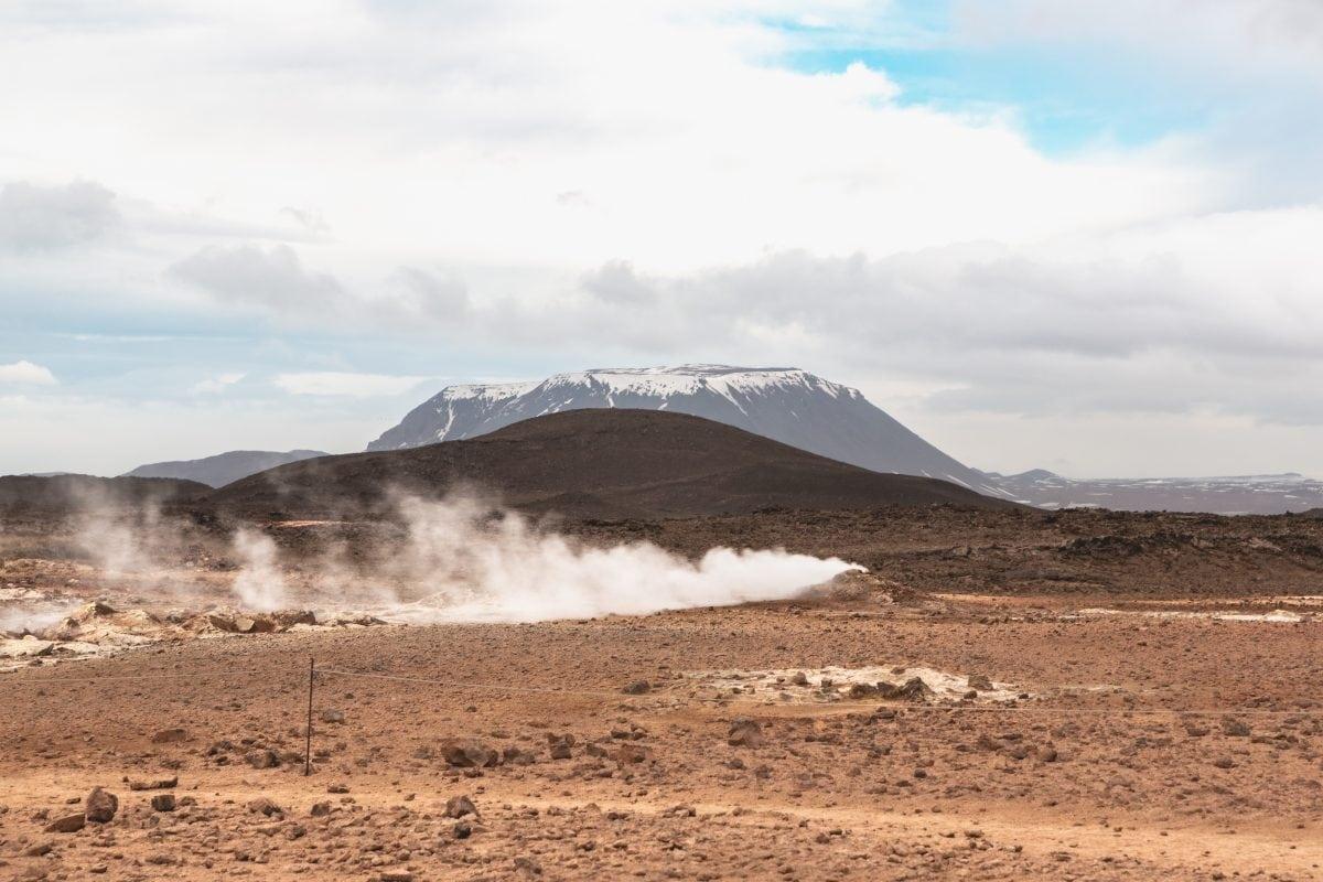 Namafjall Geothermal Area