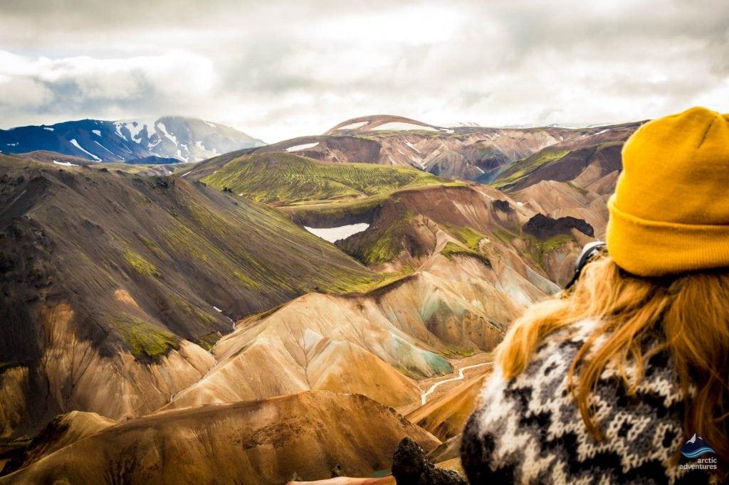 Landmannalaugar Highlands Iceland