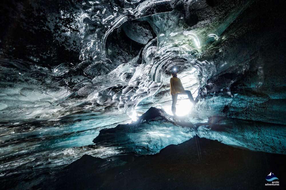 Blue Ice Cave South Coast Iceland