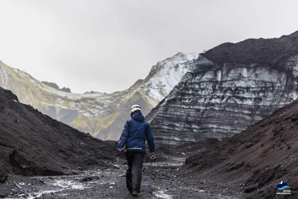 Kotlujokull Glacier Ice Cave route