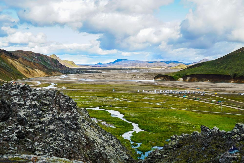 Landmannalaugar geothermal area