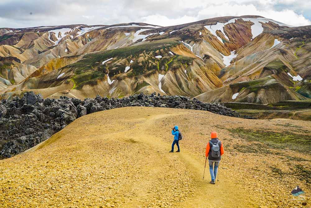 Hiking at Landmannalaugar