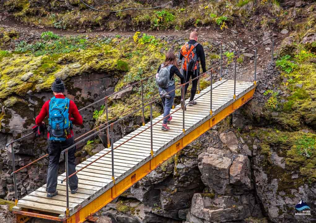 Bridge on the Laugavegur Trail