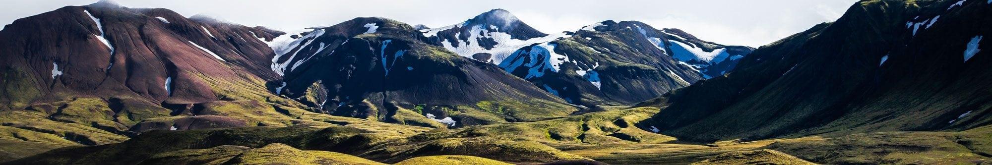 Sentier Laugavegur Islande