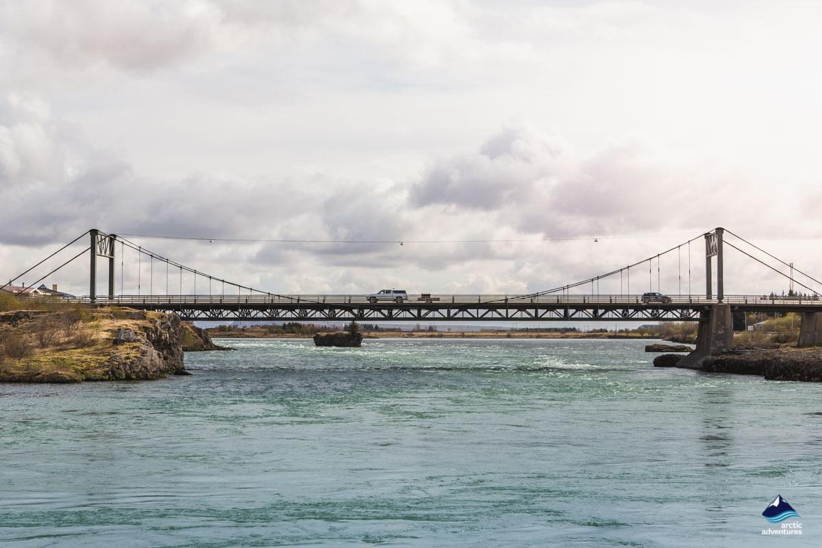 Bridge over to Selfoss