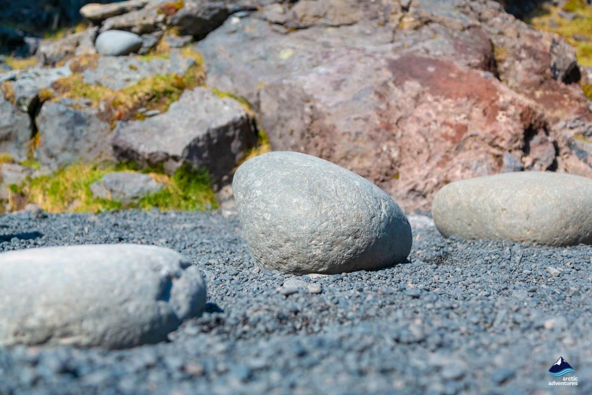 Pebble Beach at Snaefellsnes Peninsula