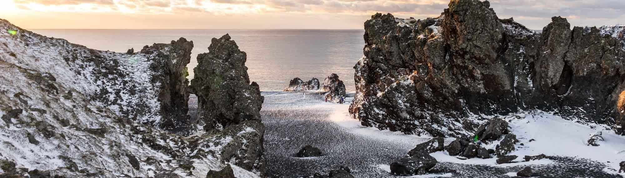 Une plage de la Péninsule de Snaefellsnes
