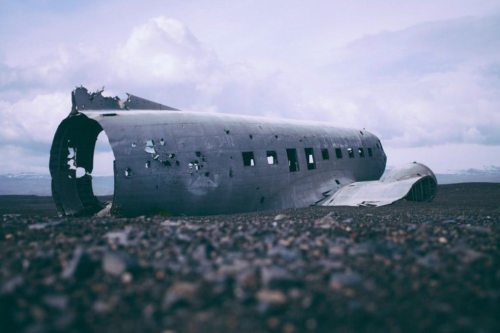 Air Plane Wreck on Solheimasandur
