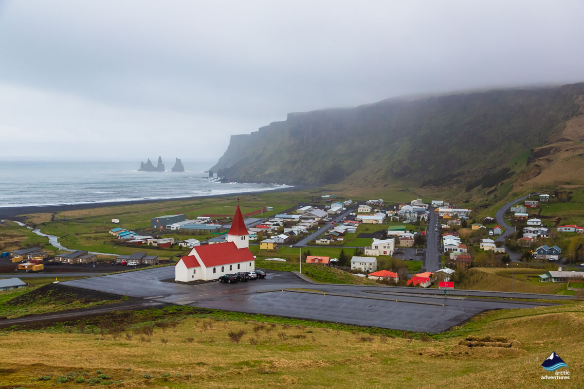 Vík Village on South Coast