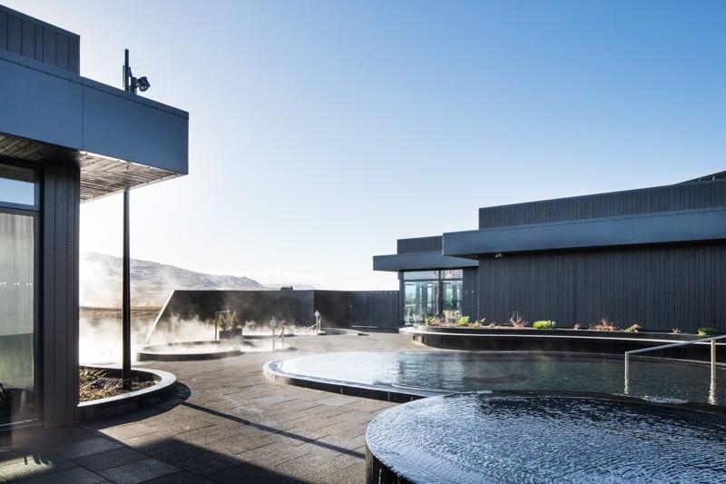 Krauma hot baths on Snaefellsnes Peninsula