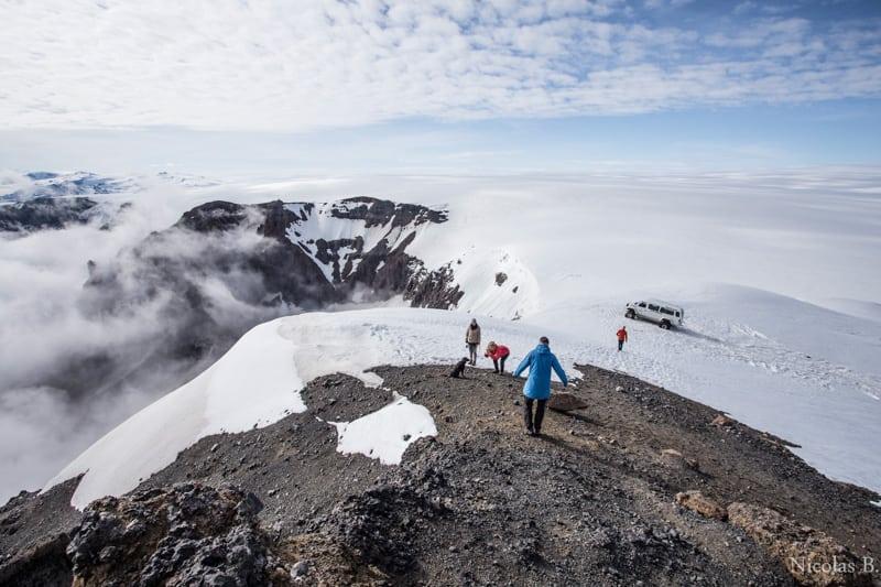 Hiking around Vatnajokull