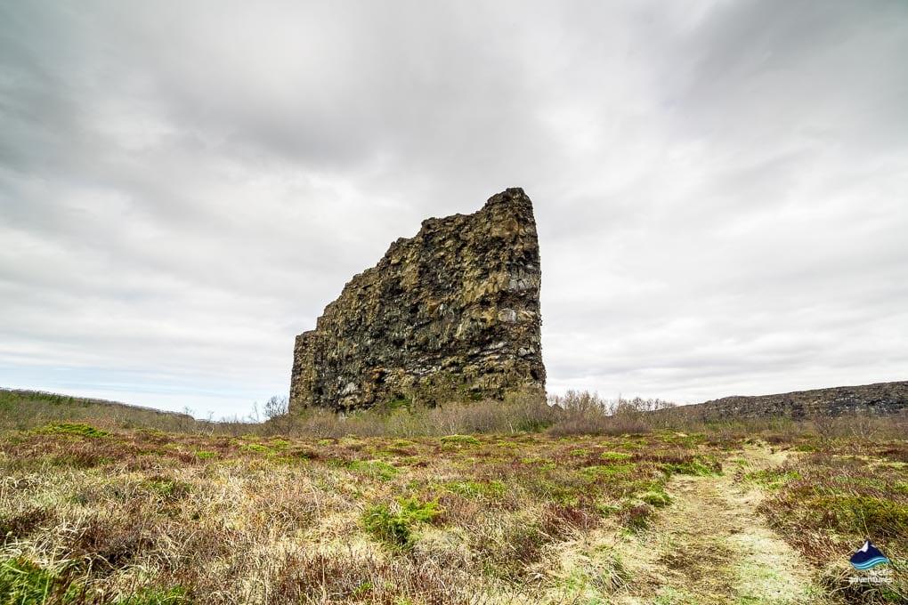 Asbyrgi Crag