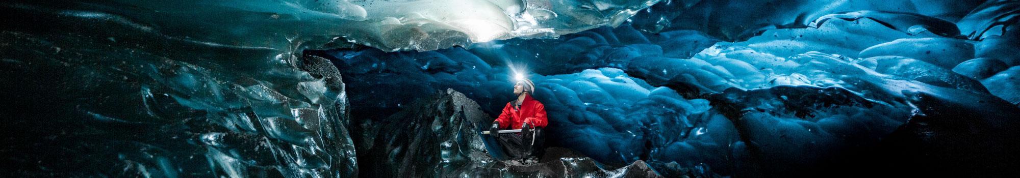 Excursion Grotte de Glace À l'Intérieur du Glacier en Islande
