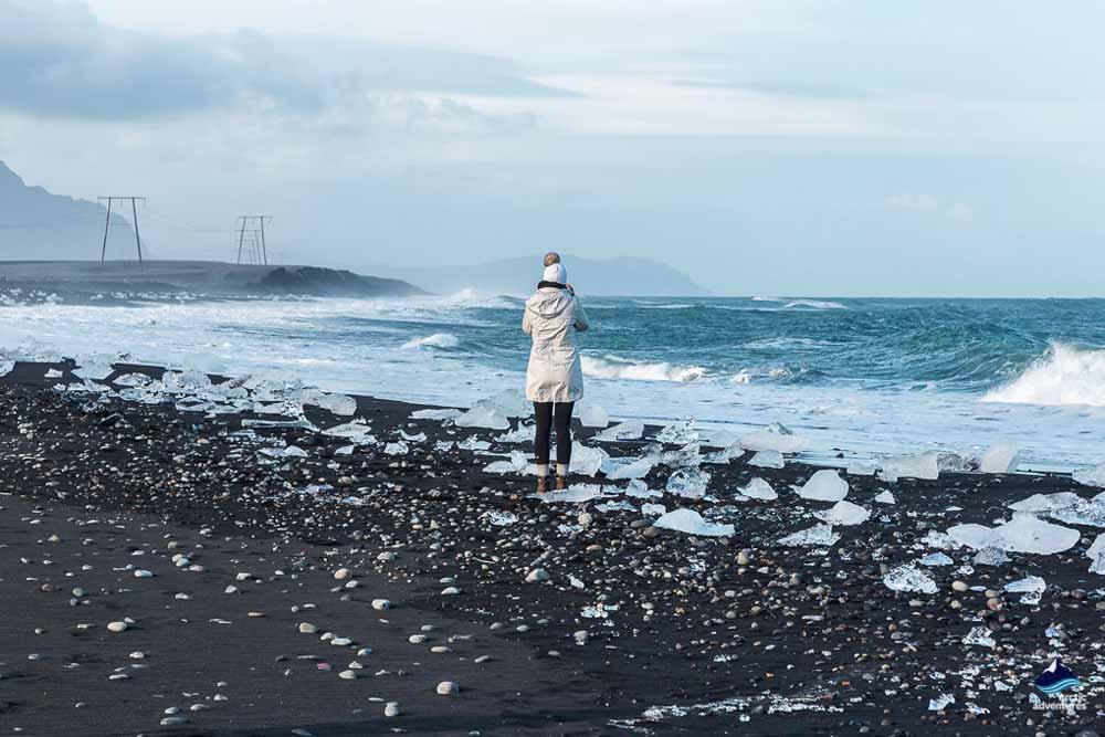 Diamond Beach South East Iceland