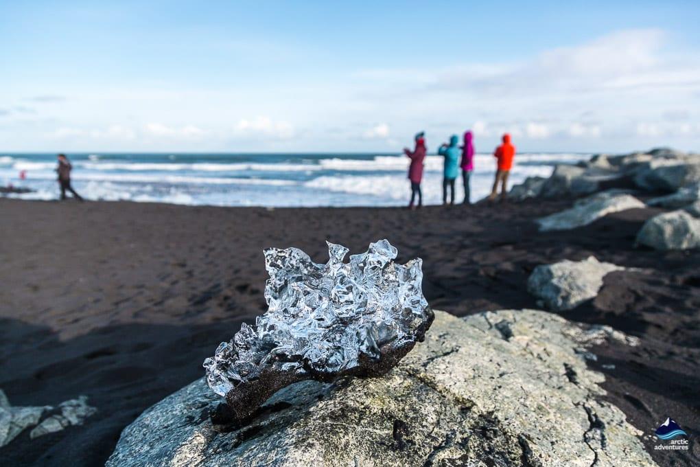 Jokulsarlon's Diamond Beach