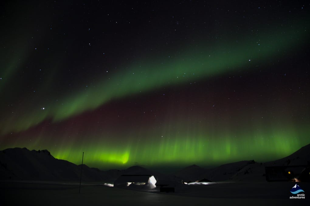 Northern Lights in Landmannalaugar