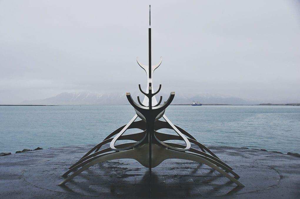 Son voyager, Reykjavik, Iceland