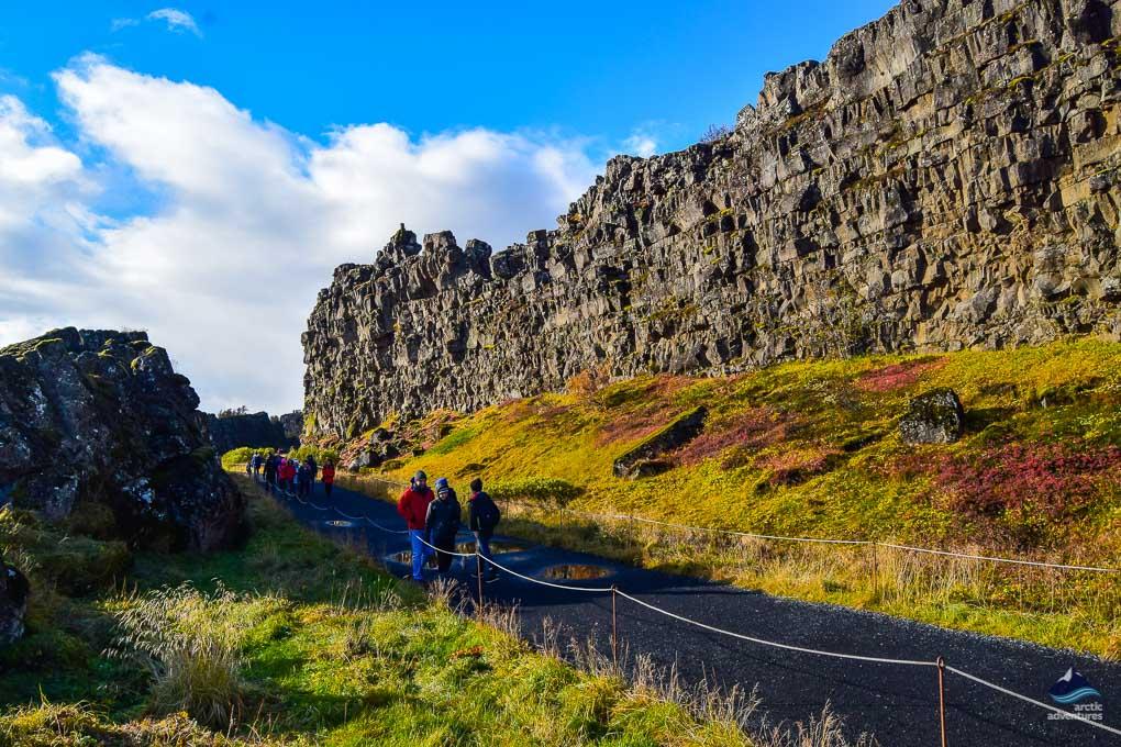 Almannagja Thingvellir National Park