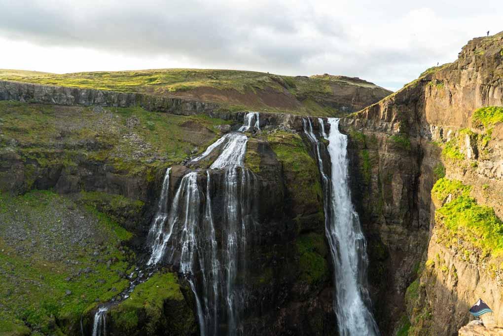 Glymur Iceland's second highest waterfall