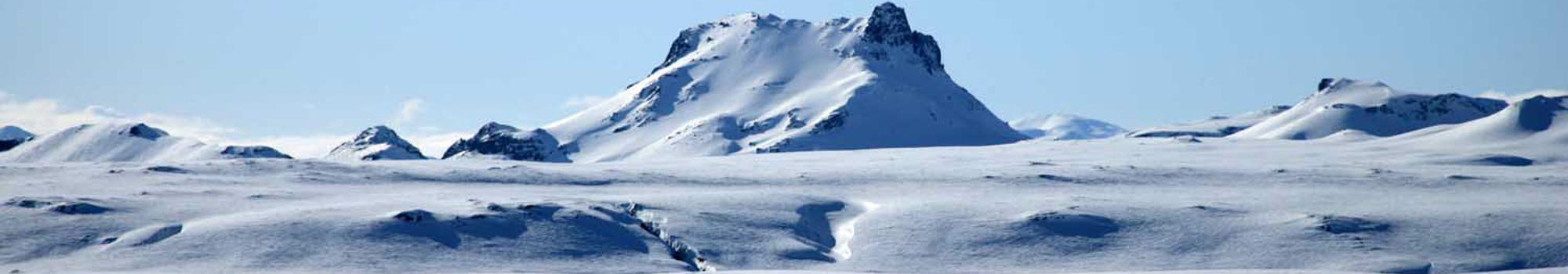 Snow capped Hveravellir
