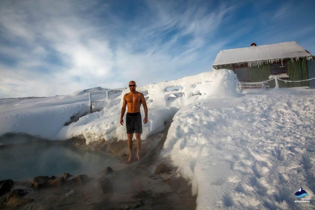 Hveravellir Hot Spring bathing