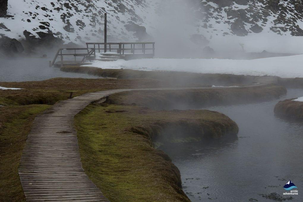 Landmannalaugar hot springs