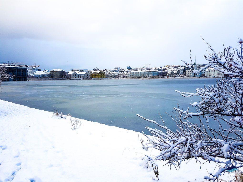 Reykjavik in Winter