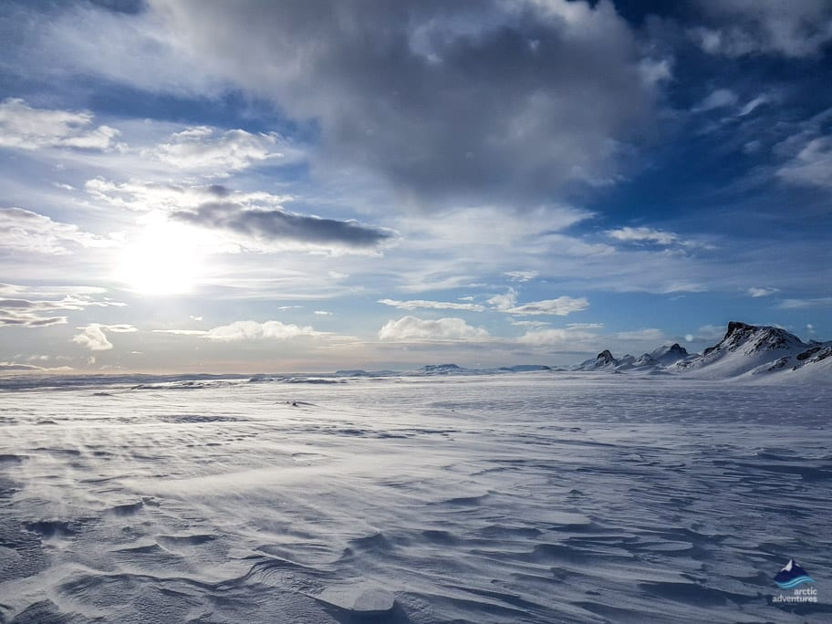 Second Largest glacier in Iceland