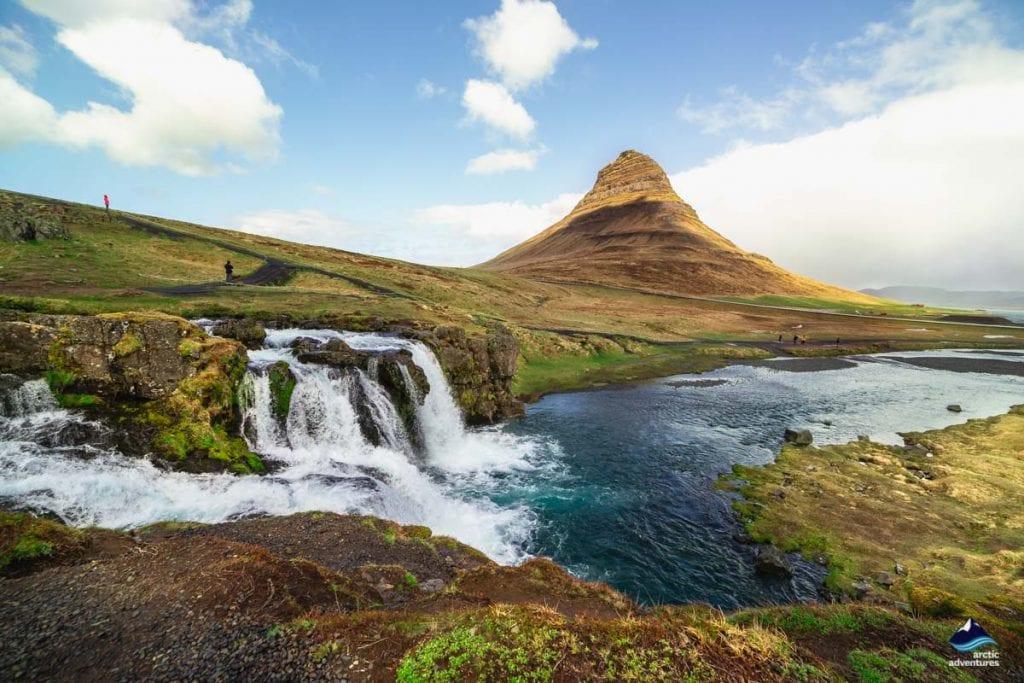 Kirkjufell Mountain above Grundarfjordur