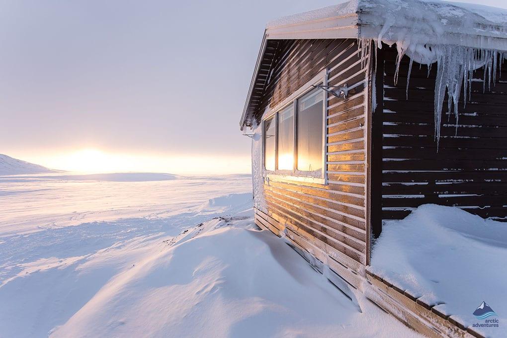 Langjokull Glacier Hut