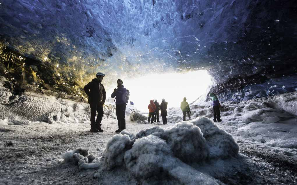 Snowmobiling and Ice Caving Vatnajokull