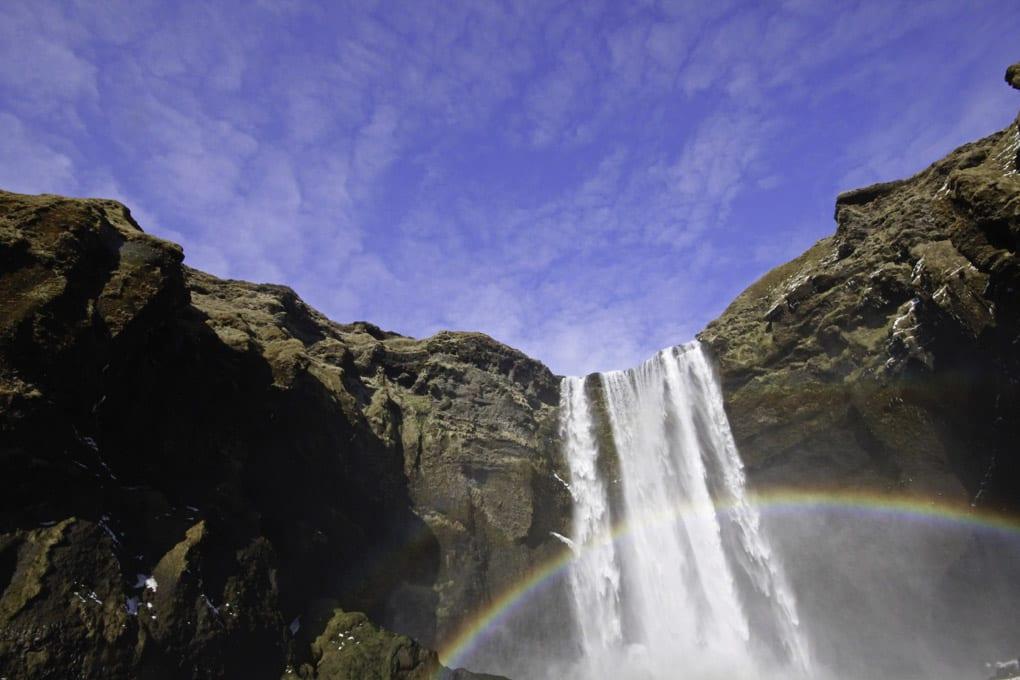 Skógafoss Waterfall South Coast Iceland