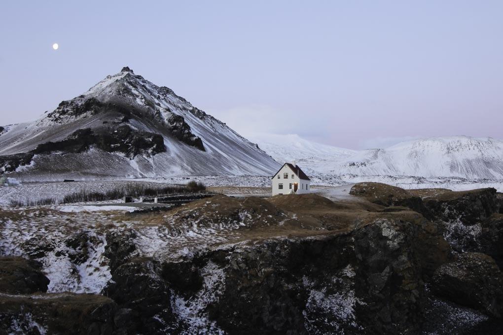 Winter at Arnarstapi
