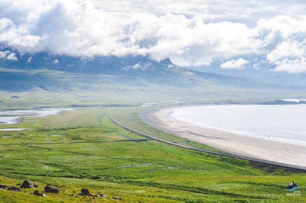 Roads around Iceland