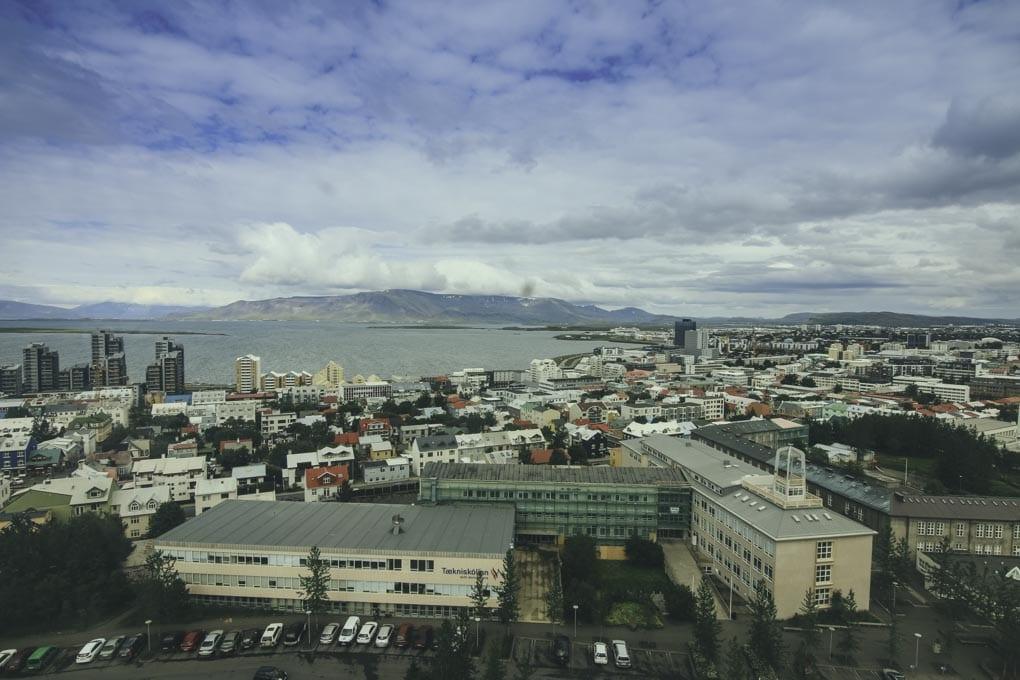 Esja in Reykjavik's skyline