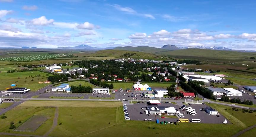 Hvolsvollur Iceland
