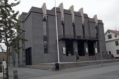 National Theater Reykjavik, Iceland