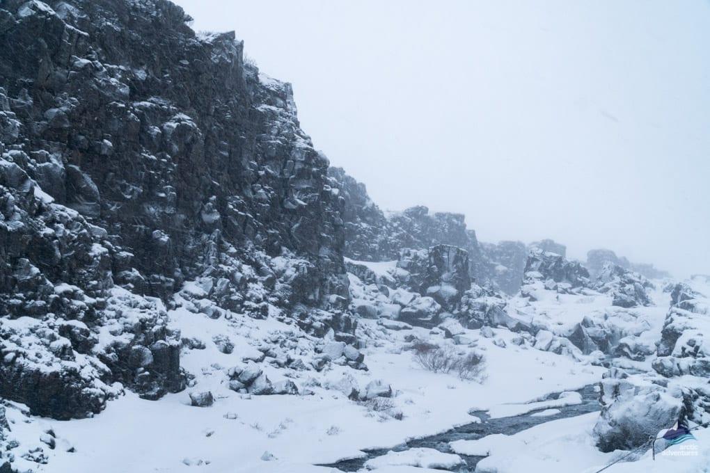 Thingvellir in winter