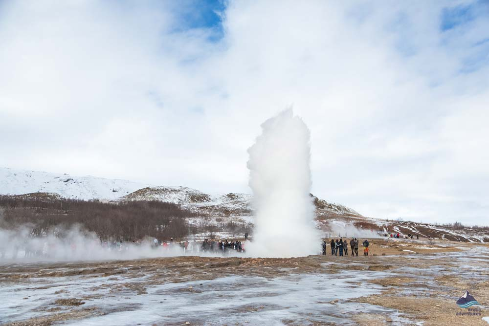 Geysir on Golden Circle