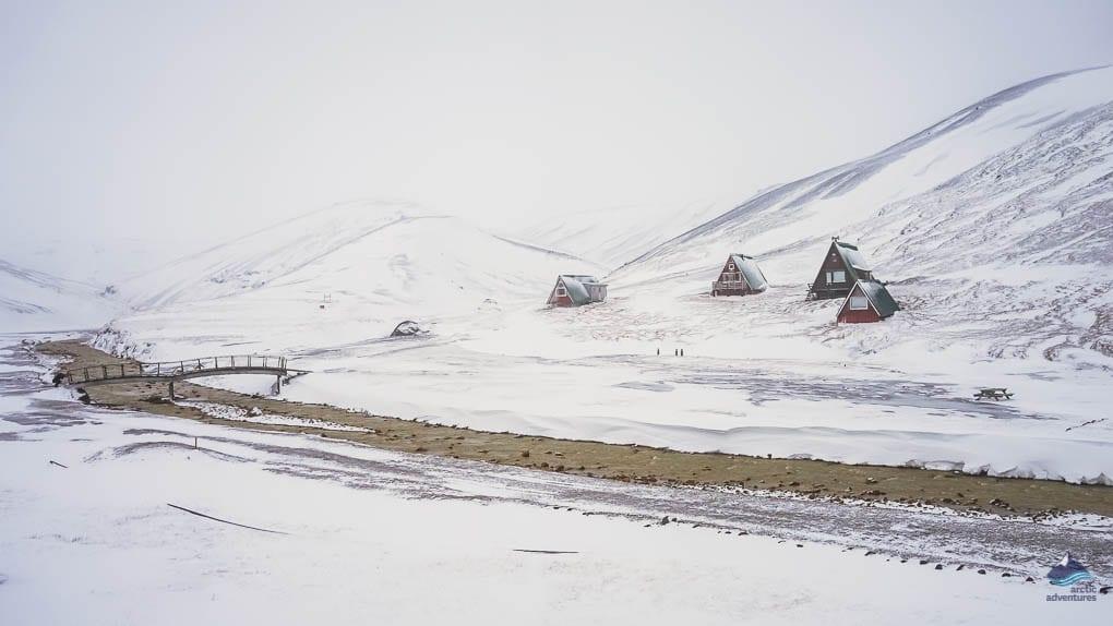 Kerlingarfjöll in winter