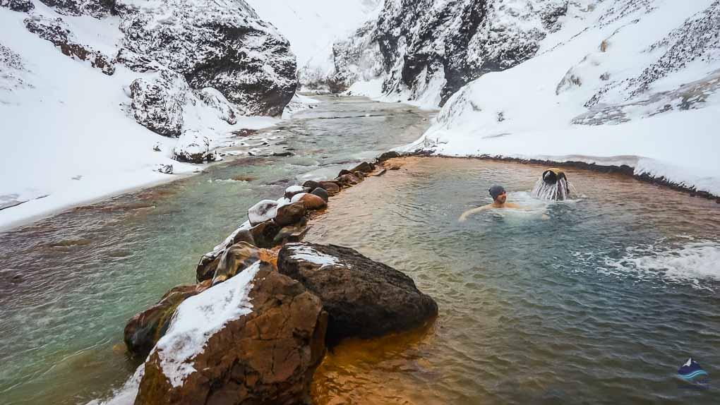 Hot spring in Kerlingarfjöll