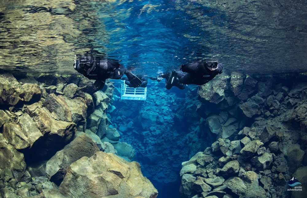 Snorkeling over Silfra