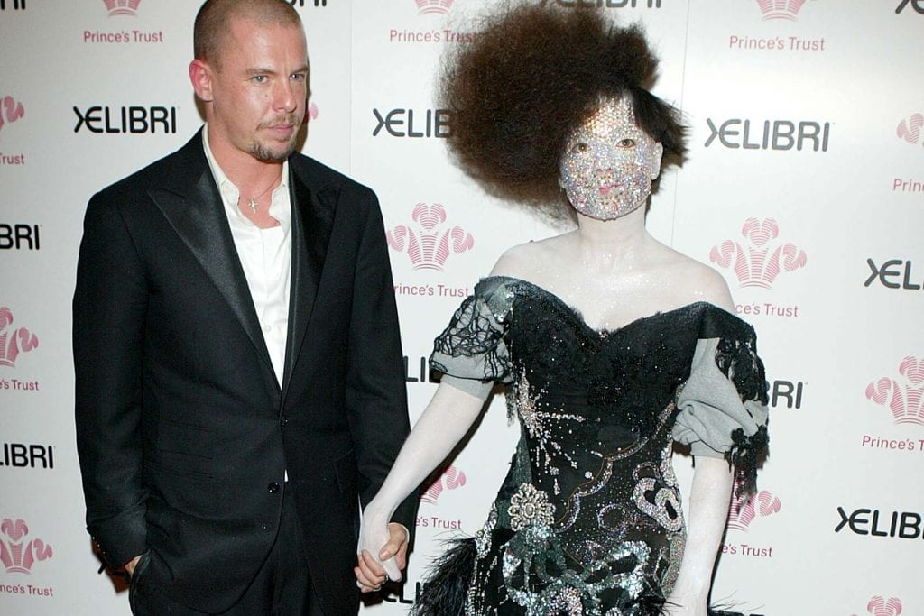 Bjork and Alexander Mcqueen