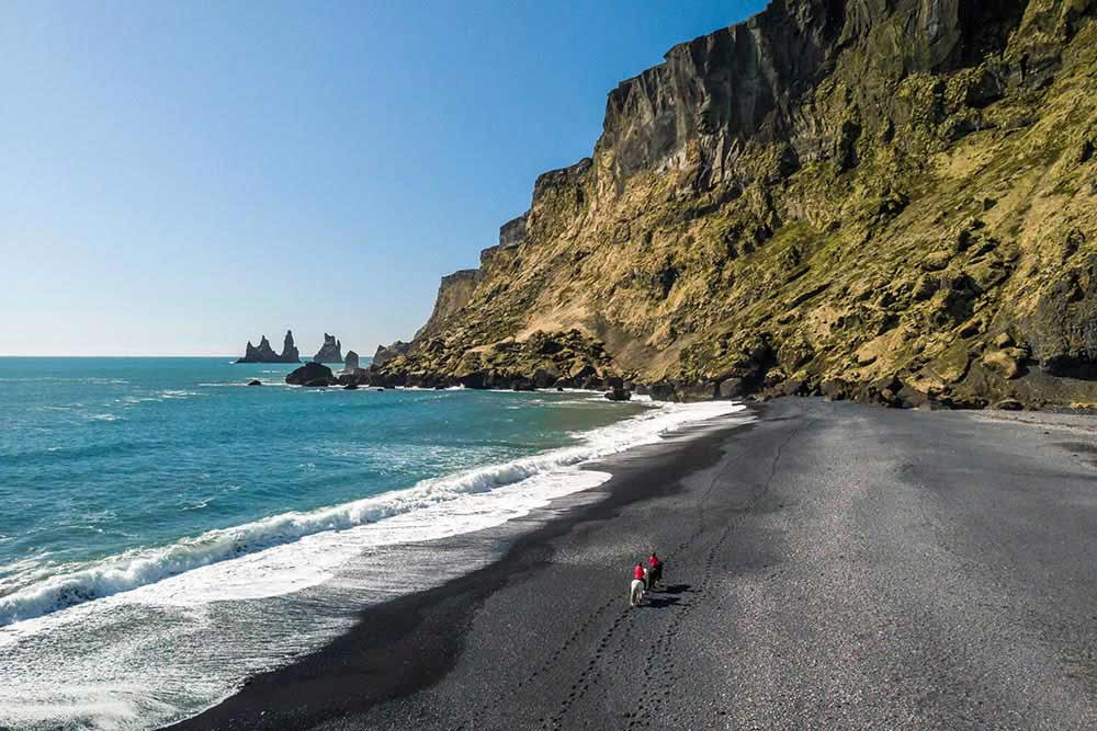 Horseback Riding Black Sand Beach
