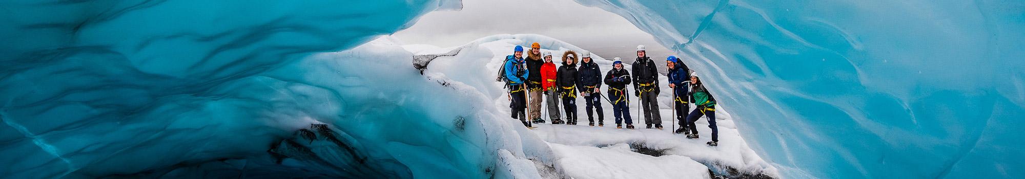 Randonnée glaciaire en Islande