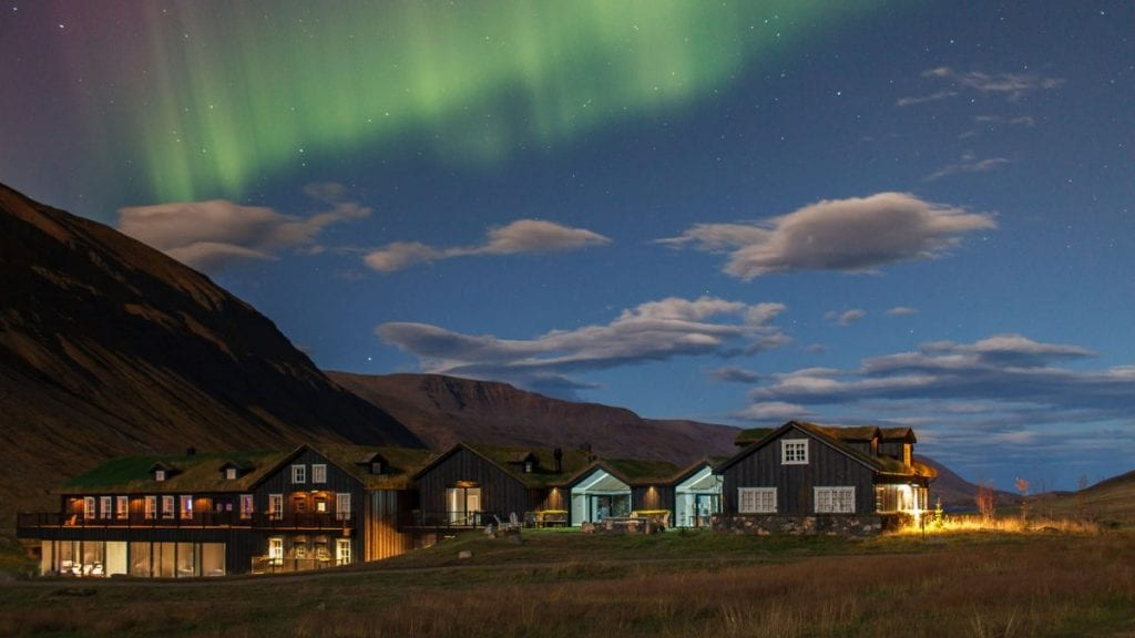 Northern Lights at Hotel Deplar