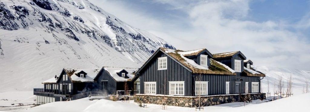 Deplar Farm Hotel in Iceland